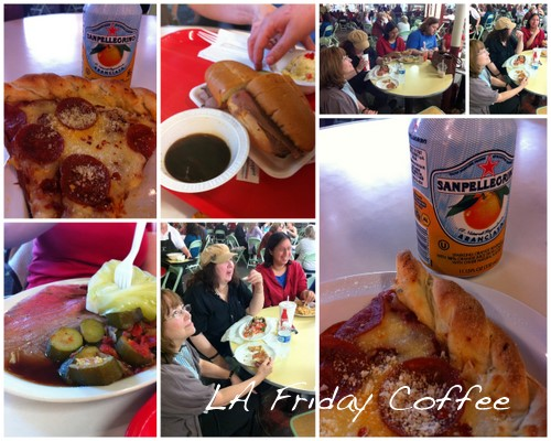 LA Friday Coffee at the Farmers Market